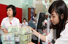 越盾兑美元中心汇率较前一日下跌6越盾