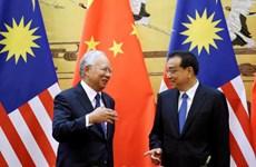 中国和马来西亚签署14份协议