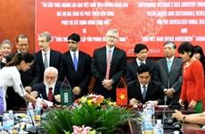越南与国际水稻研究所合推动推水稻产业发展