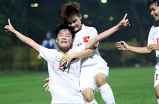 2017年亚洲U19女足锦标赛预选赛:越南队取得二连胜