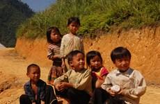 国际组织援助改善越南北部山区儿童营养状况