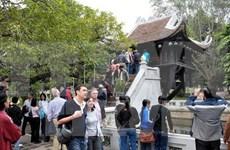 今年前十月河内接待国际游客量达近320万人次