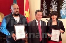 阿尔及利亚记者荣获越南对外新闻奖