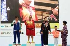 2016年亚洲青年暨青少年举重锦标赛:越南队共获17枚金牌