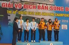 2016年东南亚射击锦标赛落幕  31项纪录被打破