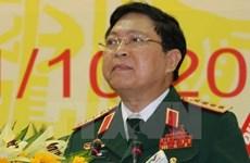 越南国防部部长吴春历大将出席东盟国防部长非正式会议