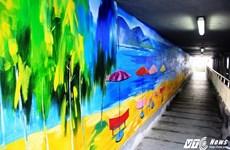青年画家小组的两幅画创下越南最大风景画记录
