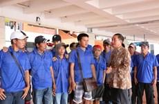 印尼释放39名越南渔民