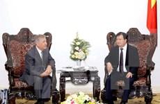 政府副总理郑廷勇会见欧盟环境、海洋事务和渔业委员卡梅奴•维拉