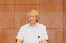 越共中央总书记阮富仲访问老挝:进一步加强越老两国特殊团结和全面合作关系