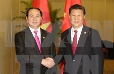 国家主席陈大光会见中国国家主席习近平