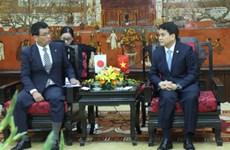 越南首都河内与日本福冈县加强合作