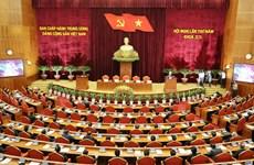 越共第十二届中央委员会第五次全体会议落幕(组图)