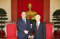 老挝政府副总理宋赛 • 西潘敦对越南进行工作访问(组图)