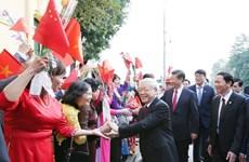 中共中央总书记、国家主席习近平访越开展的系列活动(组图)