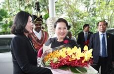 越南国会主席阮氏金银访问新加坡期间开展的系列活动(组图)