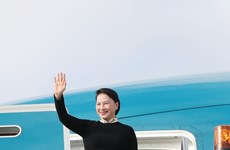 越南国会主席阮氏金银对澳大利亚进行正式访问(组图)