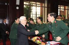 2017全军军政会议在河内召开(组图)