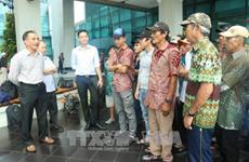众多越南渔民春节前被印尼释放