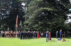 越南政府阮春福访问新西兰期间开展的系列活动(组图)