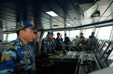 2018年第一次越中北部湾共同渔区海上联合检查行动整个过程(组图)