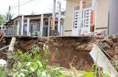 九九龙江三角洲部分省份发生严重坍塌  摧毁诸多房屋(组图)