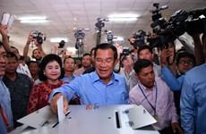 柬埔寨第六届国会选举29日举行(组图)