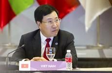 第51届东盟外长会议:越南愿扩大和深化与各国的合作关系