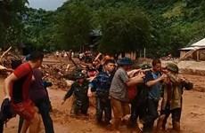 越南清化省山区县遭洪涝灾害 多地被包围孤立(组图)