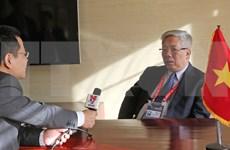 阮志咏越南国防部副部长阮志咏上将:防务合作是越韩防务合作的支柱