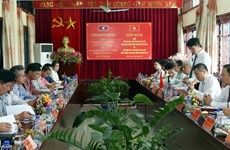 加强越南奠边省与老挝琅勃拉邦省旅游领域的合作
