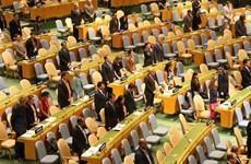 联合国大会为越南国家主席陈大光逝世默哀一分钟(组图)