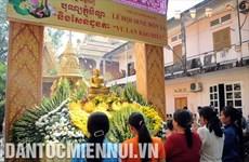 越南南部高棉族报孝节的独特(组图)