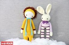 可爱的手工毛绒玩具(组图)