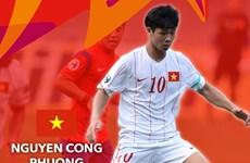 越南球员阮公凤进入U23亚洲杯最佳球员名单