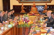 越柬两国司法部签署2016年合作计划