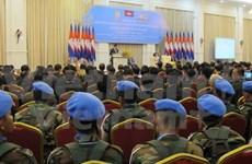 柬埔寨对参与联合国维和行动10周年进行总结