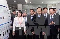张晋创主席莅临北宁省调研