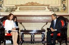 越南胡志明市与芬兰加强合作
