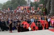 2016年西天庙会正式开庙