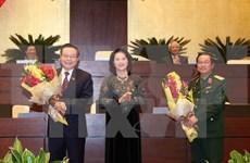 越南第十三国会第十一次会议:杜伯巳与冯国显当选第十三届国会副主席职务