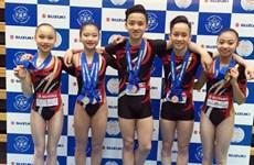 2016健美操世界杯赛:越南队夺1金1银3铜