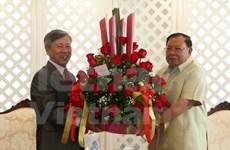 越南向老挝新任国家主席沃拉吉致以热烈祝贺