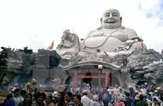 前四个月安江省接待游客量达215万人次