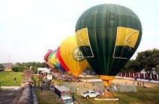 2016年国际热气球节亮相承天顺化省