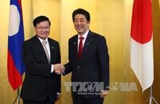 日本与老挝加强合作关系