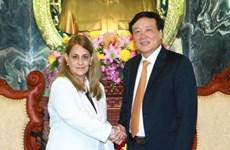 越南最高人民法院院与古巴总检察院进一步加强合作关系