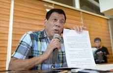 菲律宾新总统杜特尔特公布内阁成员名单