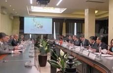 越南祖国阵线中央委员会主席阮善仁对俄罗斯进行工作访问