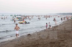 越南义安省海水水质符合国家标准要求